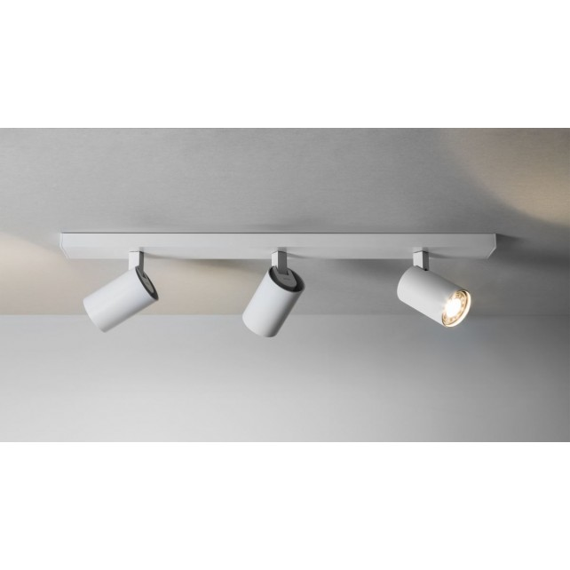 Astro Lighting Ascoli Triple Bar Spotlight - 3 Light, White