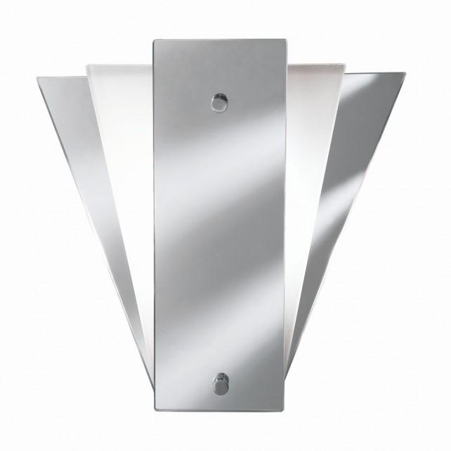 Modern Wall Light - Mirror Glass & Chrome