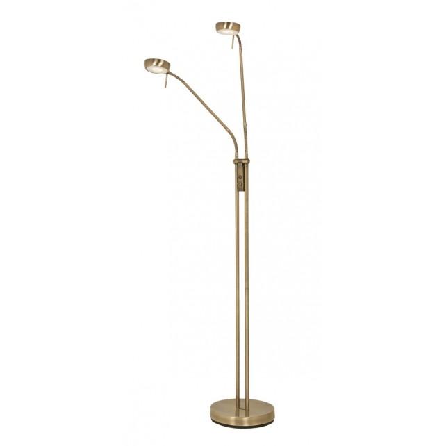 Oaks Lighting 6348/2 FL AB Orin Antique Brass 2X7W