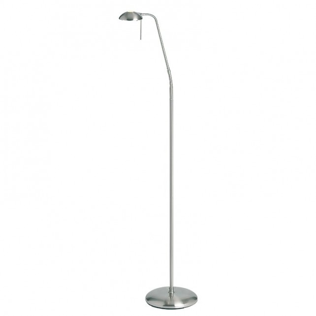 Range 656 Floor Lamp - Satin Chrome