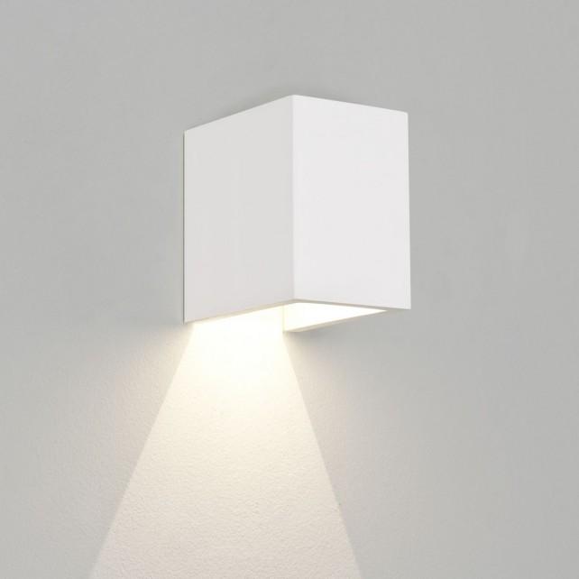 Astro Lighting Parma 100 Ceramic Wall Light - 1 Light, White