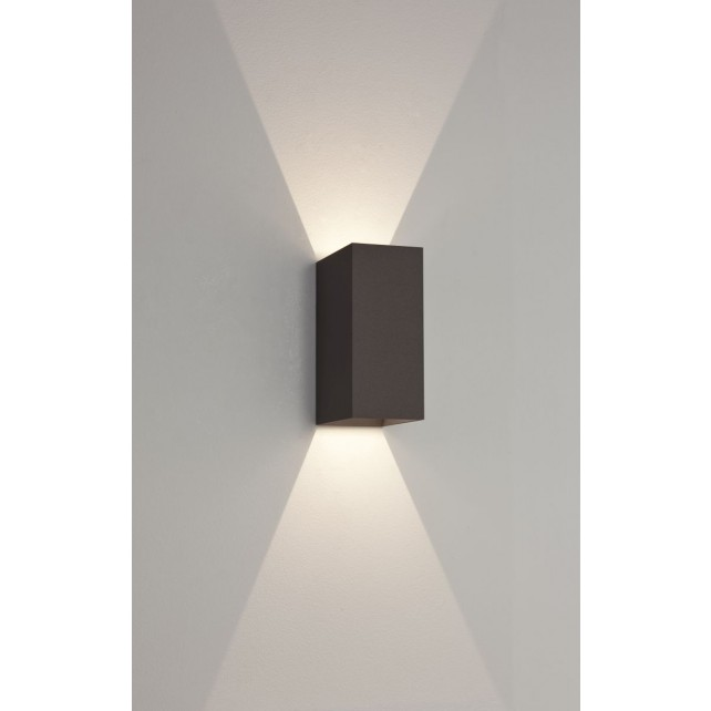 Astro Lighting Oslo 160 Wall Light - 2 Light, Black