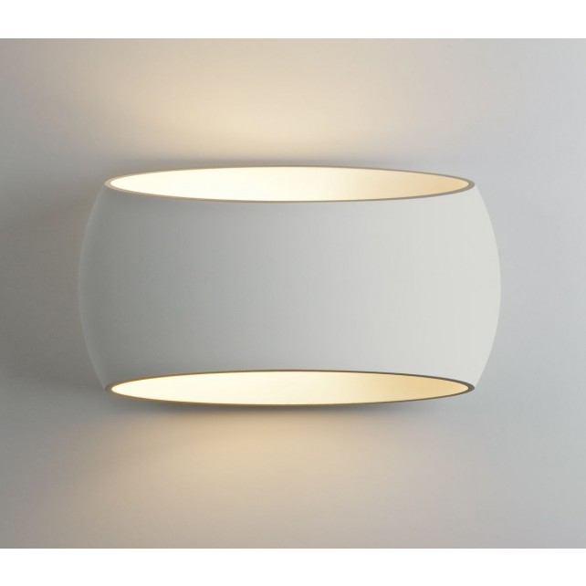 Astro Lighting Aria 300 Wall Light - 1 Light, White