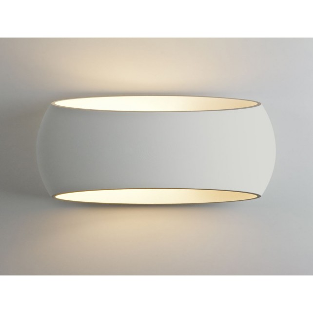 Astro Lighting Aria 370 Wall Light - 1 Light, White
