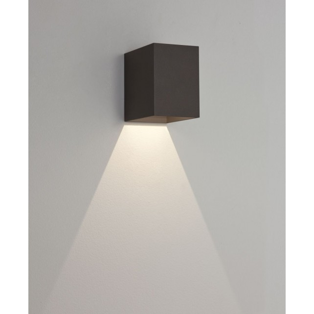 Astro Lighting Oslo 100 Wall Light - 1 Light, Black