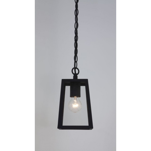 Astro Lighting Calvi 1 Light Pendant Black