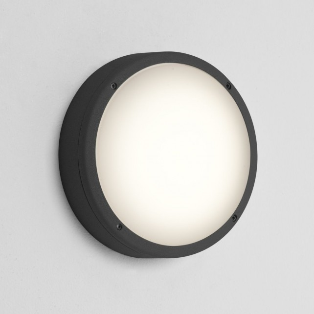 Astro Lighting Arta 275 Round Ceiling Light Black - 2-Light