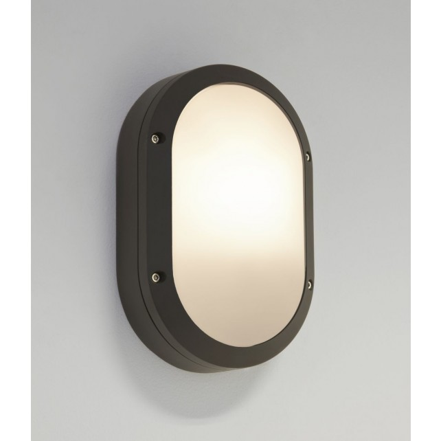 Astro Lighting Arta Oval Wall Light Black - 1-Light