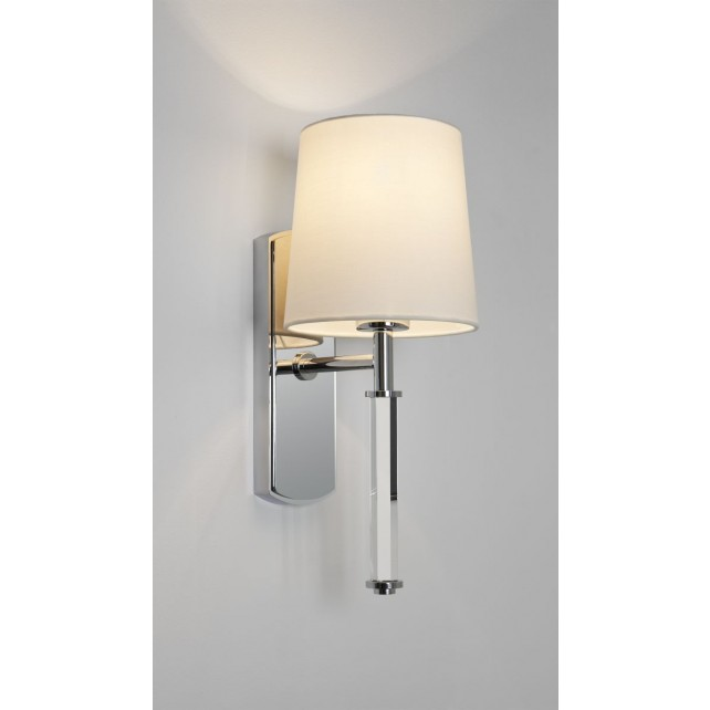 Astro Lighting Delphi Wall Light -1 Light, Polished Chrome
