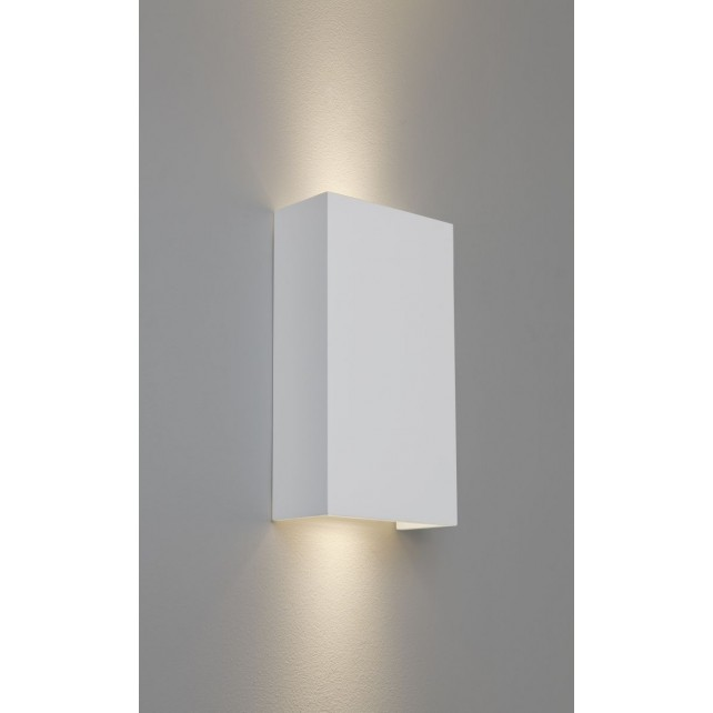 Astro Lighting Pella 190 Wall Light - 2 Light, White