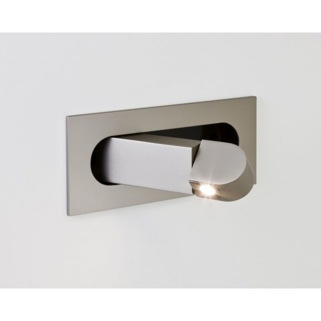 Astro Lighting Digit Wall Light -1 Light, Matt Nickel