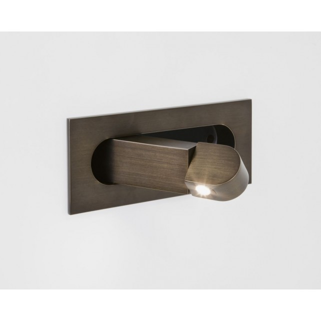 Astro Lighting Digit Wall Light -1 Light, Bronze