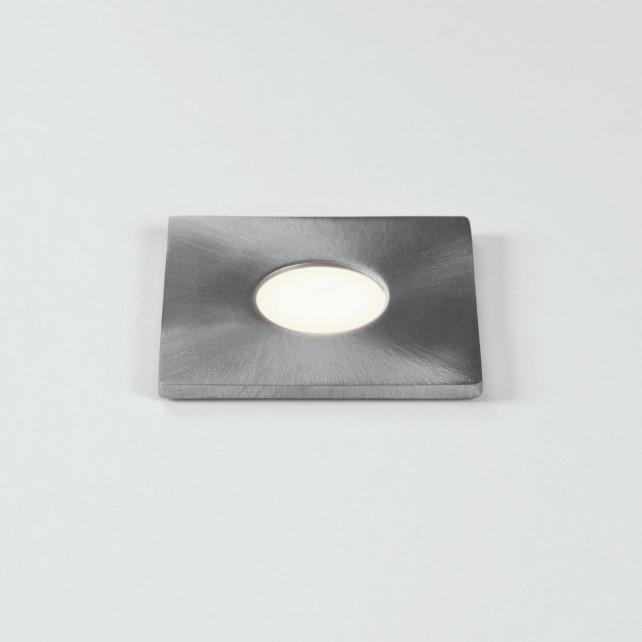 Astro Lighting Terra 28 Square Wall Light Stainless Steel - 1-Light