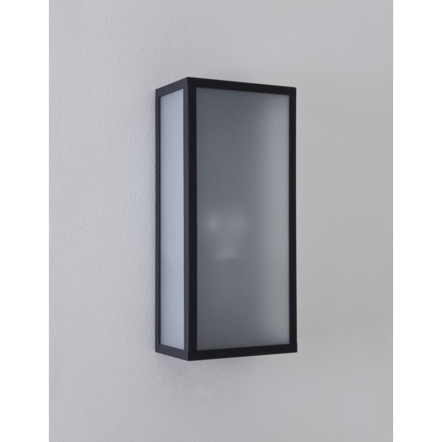 Astro Lighting Messina Sensor Wall Light Black - 1-Light