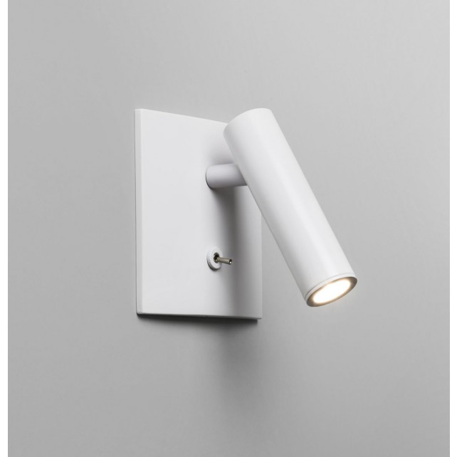 Astro Lighting Enna Square Switched Wall Light - 1 Light, White