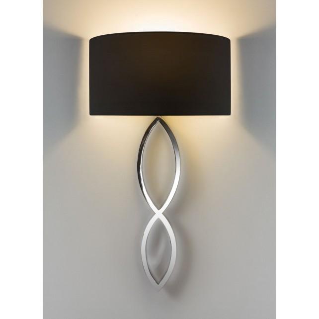 Astro Lighting Caserta Wall Light - 1 Light, Polished Chrome