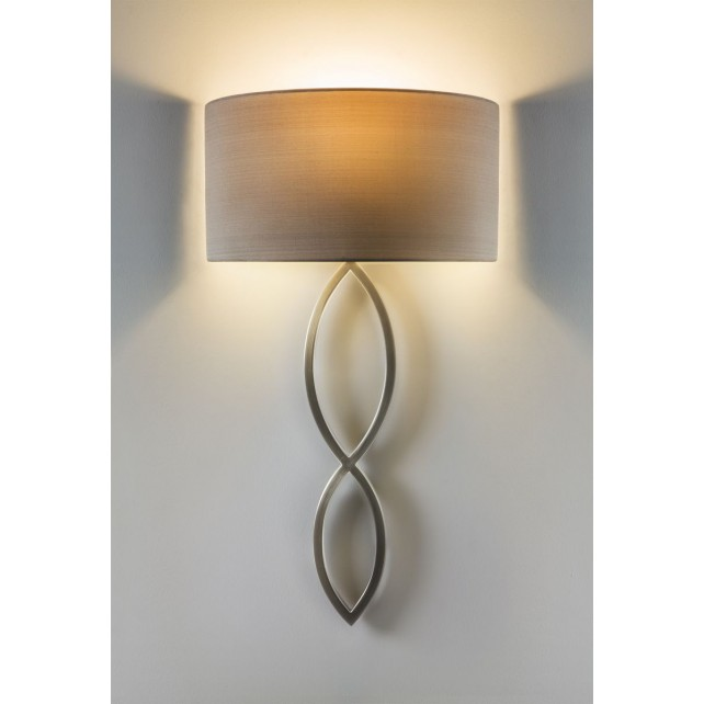 Astro Lighting Caserta Wall Light - 1 Light, Matt nickel