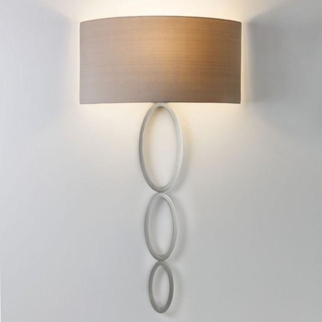 Astro Lighting Valbonne Wall Light - 1 Light, Matt Nickel