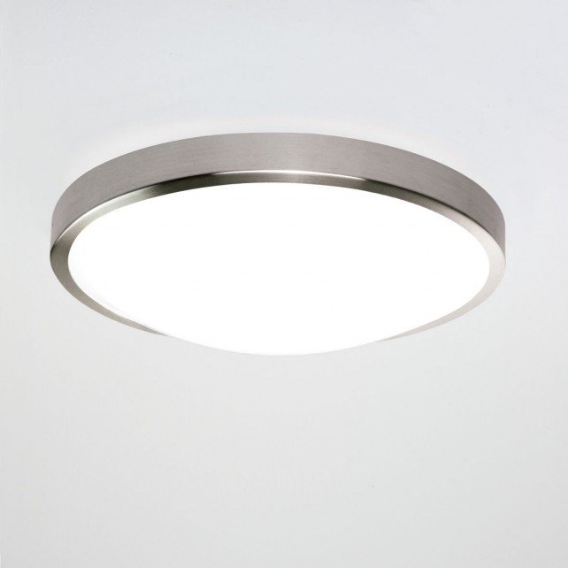 Astro Lighting Osaka 350 Ceiling Light Brushed Nickel