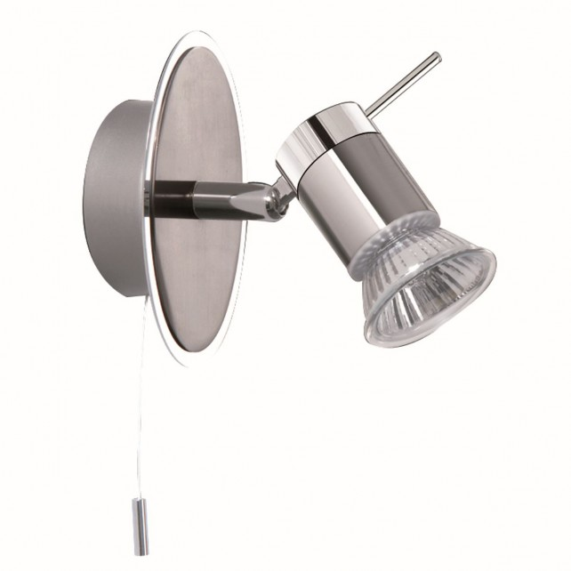 Aries Bathroom Wall Light - Chrome