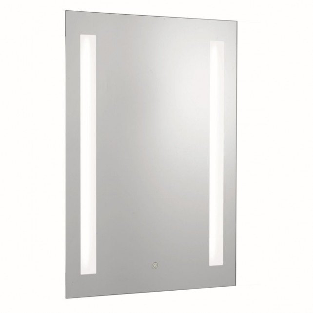 Bathroom light ip44 2 light touch bathroom mirror with shaver socket aloadofball Images