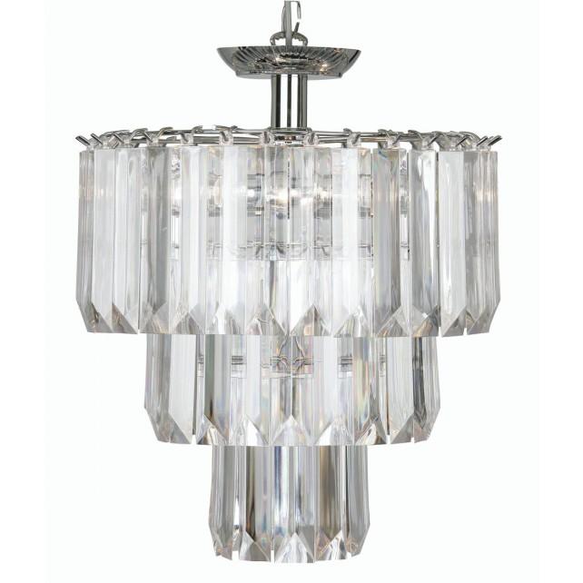 Acrylic Decorative Ceiling Light - 4 Light