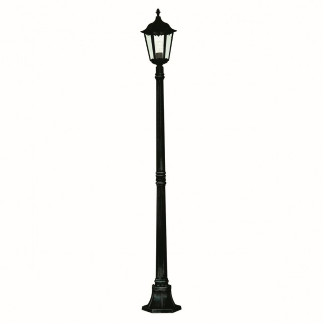 Alex Outdoor Post - Single Lamppost Lantern