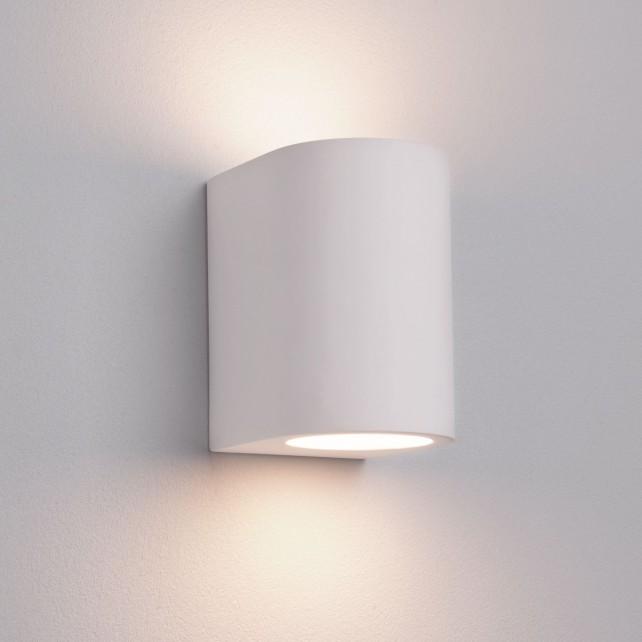G9 Gypsum Wall Uplighter - Plaster