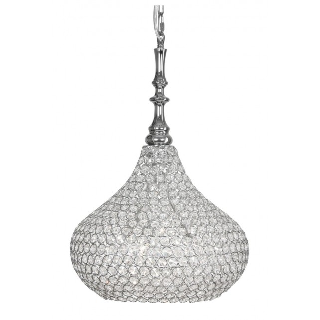 Santi Pendant Light - Chrome