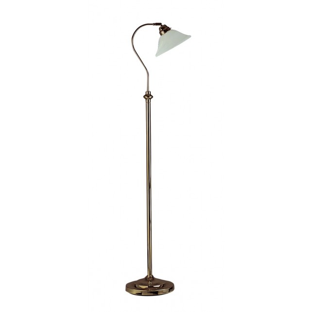 Traditional Floor Lamp - Scavo Glass