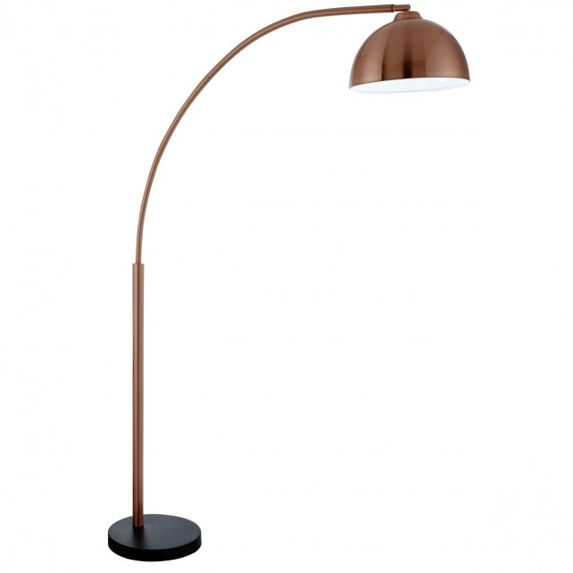Giraffe Copper Floor Lamp