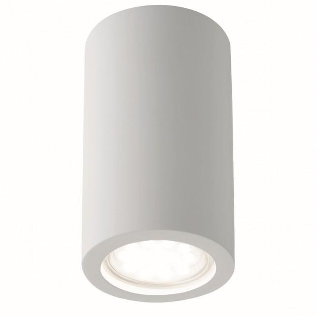 Gypsum Cylinder Flush Ceiling Light