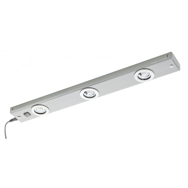LED-light-bar/3 nickel-m. 'KOB LED'