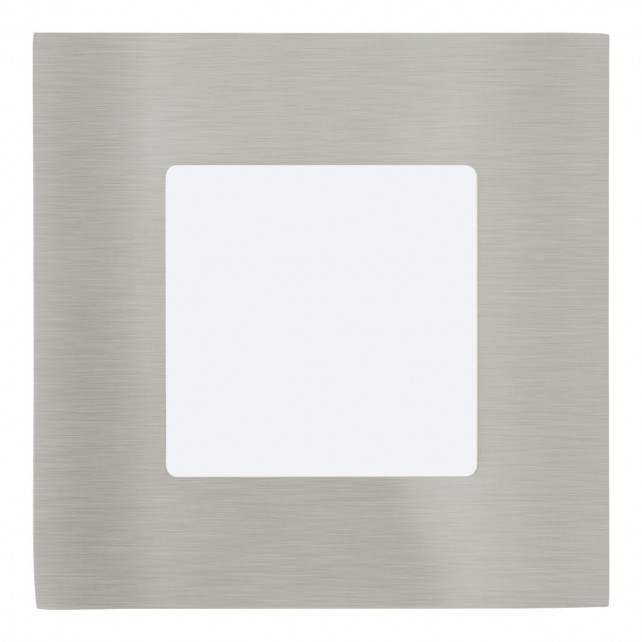 LED-EINBAUSPOT 85X85 NICKEL 4000K'FUEVA1