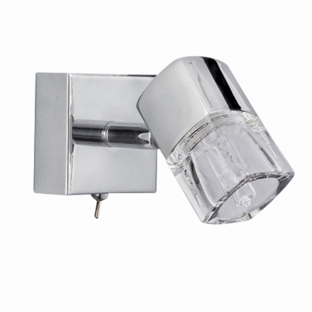 Blocs Wall Light - Chrome