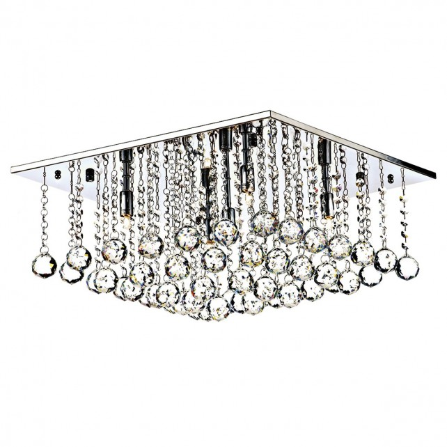 Abacus 5 light flush Ceiling light