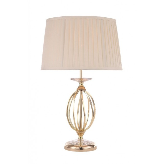 Elstead AG/TL POL BRASS Aegean 1 - Light Table Lamp Polished Brass