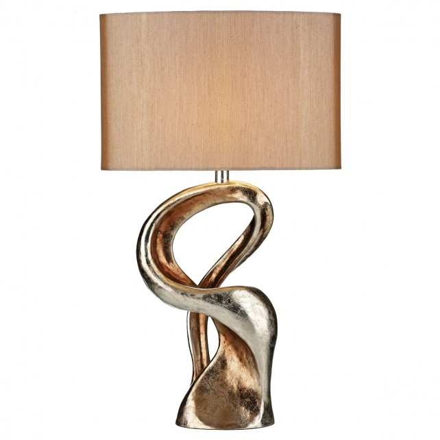 Alchemy Table Lamp - Gold Sculpture