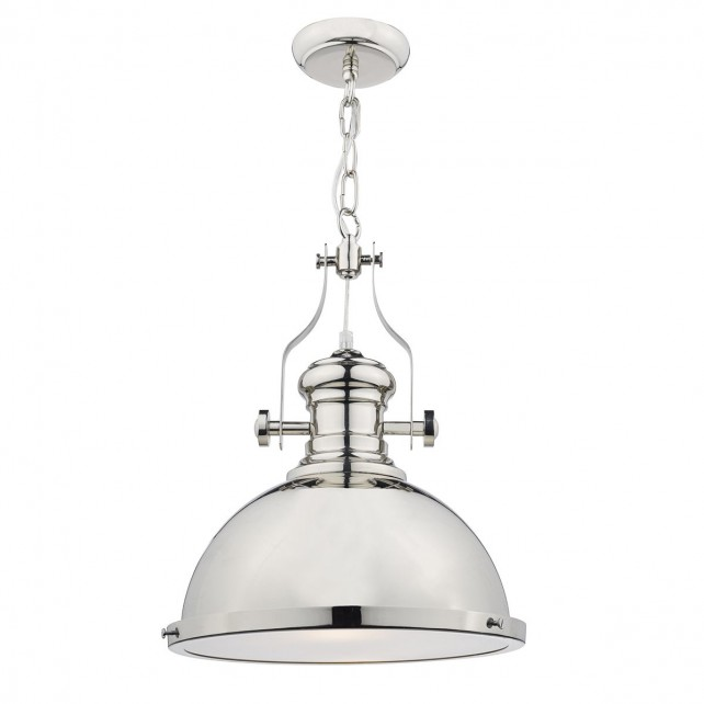 Arona 1 Light Pendant Polished Chrome