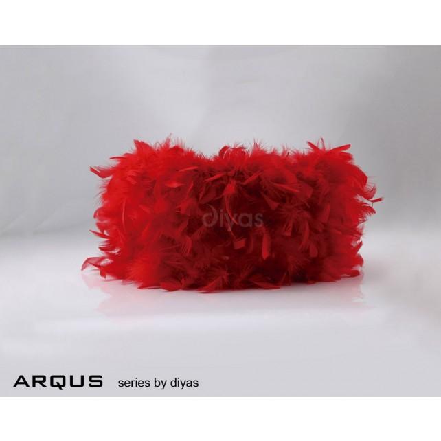 Diyas Arqus Feather Shade Red 250mm
