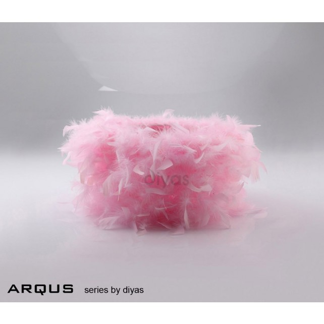 Diyas Arqus Feather Shade Pink 250mm