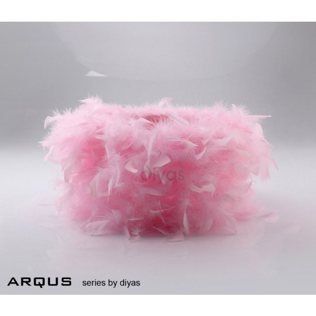 Diyas Arqus Feather Shade Pink 330mm