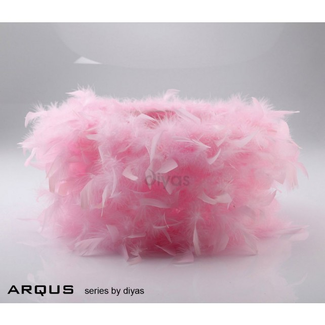 Diyas Arqus Feather Shade Pink 410mm