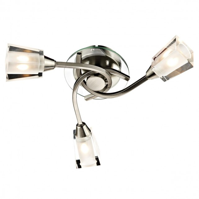 Austin 3 Light Semi Flush