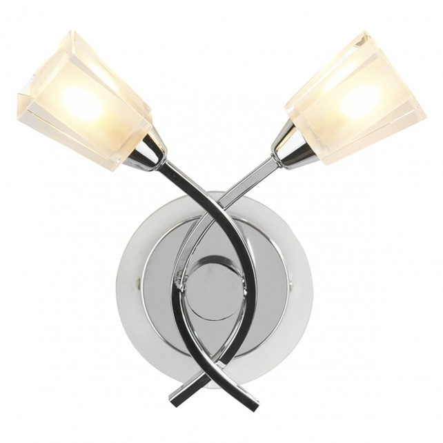 Austin Wall Light - Polished Chrome