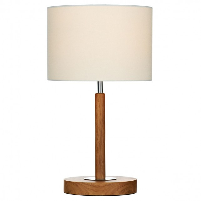 Avenue Table Lamp - Light Wood