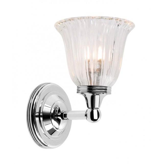 Elstead BATH/AUSTEN1 PN Austen1 Wall Light Polished Nickel