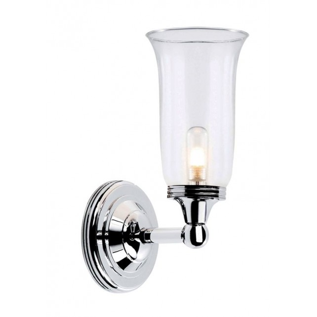 Elstead BATH/AUSTEN2 PC Austen2 Wall Light Polished Chrome