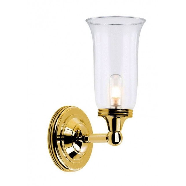 Elstead BATH/AUSTEN2 PB Austen2 Wall Light Polished Brass