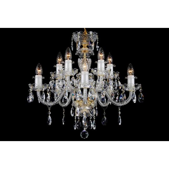 US $395.0 |Glass Arm Crystal Chandelier Bohemian Small Crystal Lustre|Chandeliers| AliExpress
